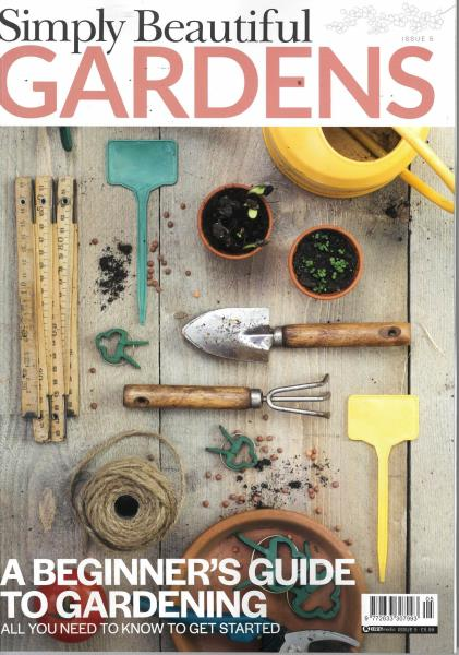 Simply Beautiful Gardens magazine