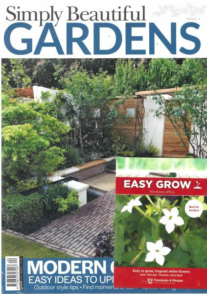 Simply Beautiful Gardens magazine