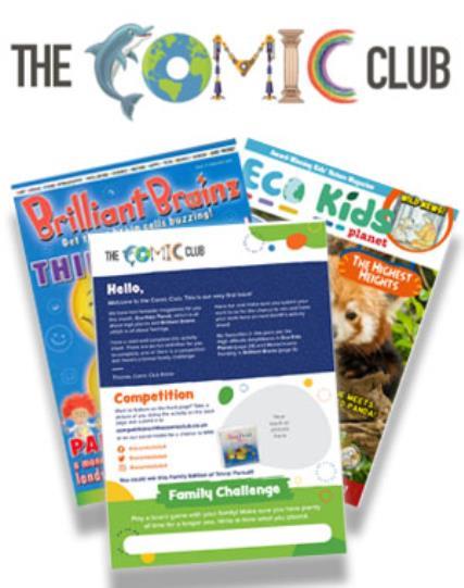 The Comic Club 01 magazine