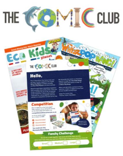 The Comic Club 02 magazine
