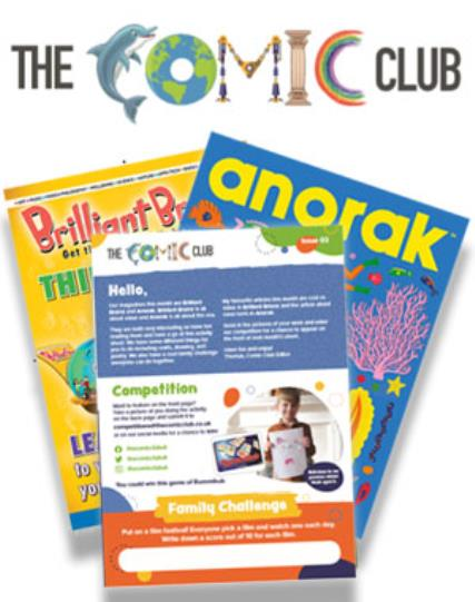 The Comic Club 03 magazine