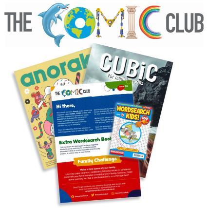 The Comic Club 06 magazine