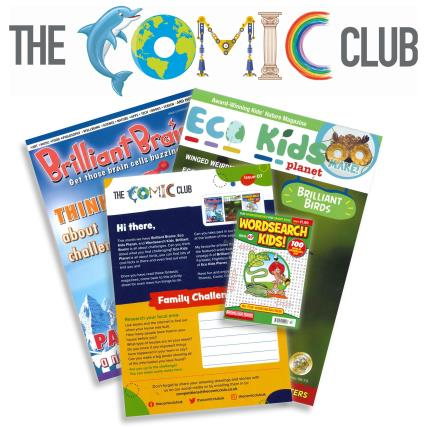 The Comic Club 07 magazine