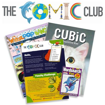 The Comic Club 08 magazine
