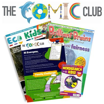 The Comic Club 09 magazine