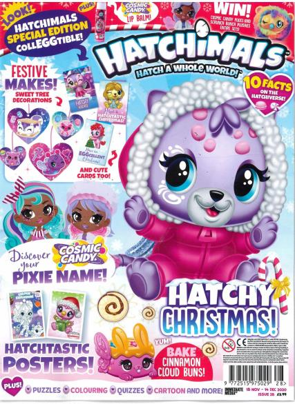 Hatchimals magazine