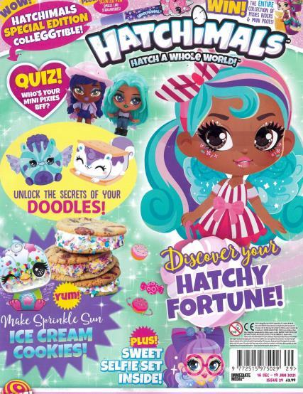 Hatchimals magazine