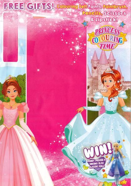 Princess Colouring Time magazine
