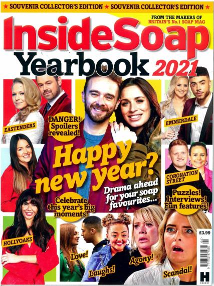 Inside Soap Yearbook 2021 magazine
