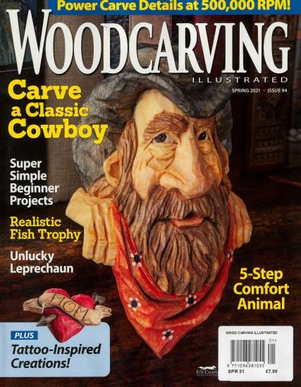 Wood Carving Illustrated magazine