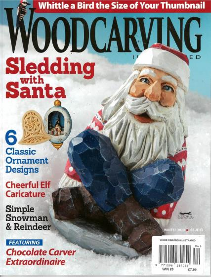 Wood Carving Illustrated magazine