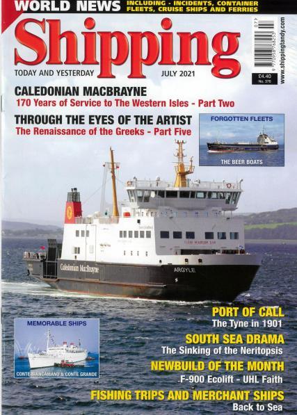 Shipping Today Yesterday magazine