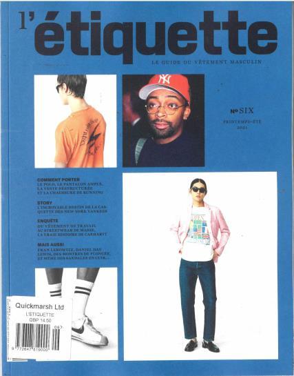 L'Etiquette magazine