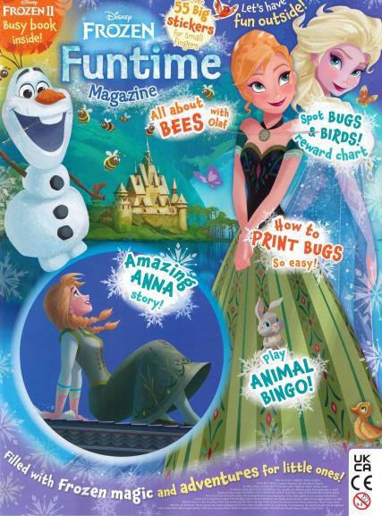 Frozen Funtime magazine
