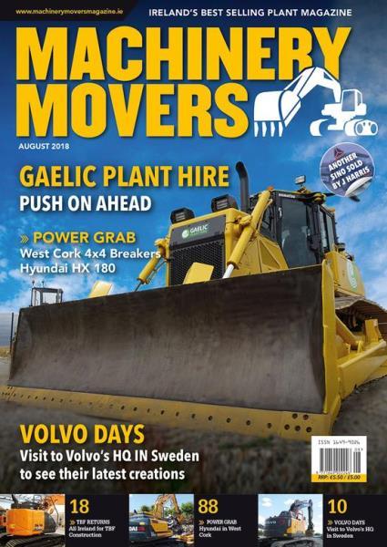 Machinery Movers magazine