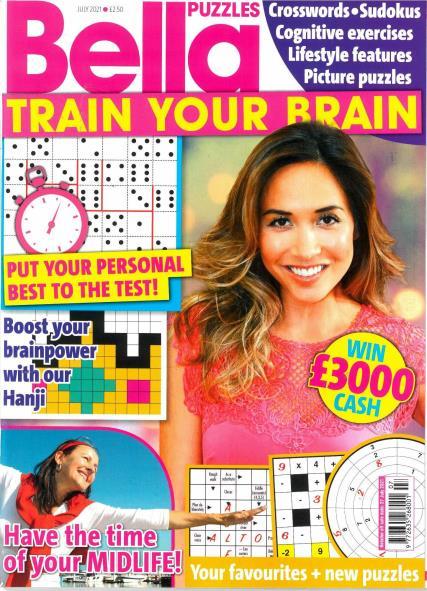 Bella Puzzles Train Your Brain magazine