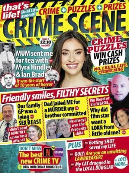 That's Life Crime Scene magazine