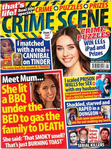 That's Life Crime Scene magazine