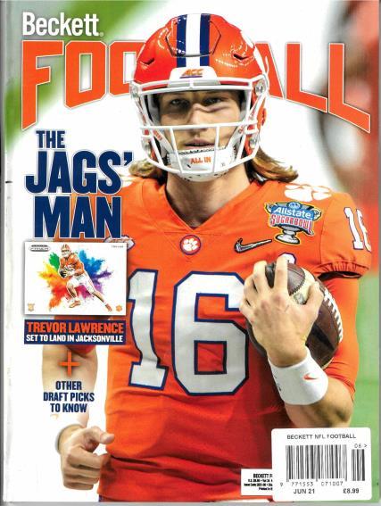 Beckett NFL Football magazine