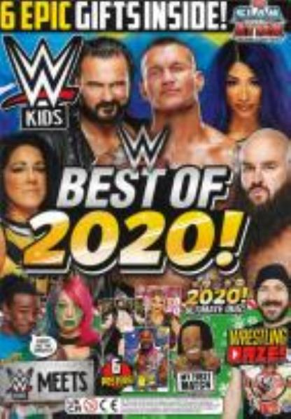 WWE Kids Issue 66 magazine