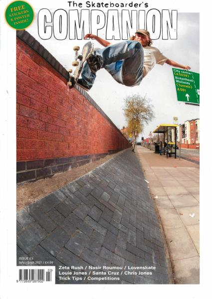 Skateboarders Companion magazine