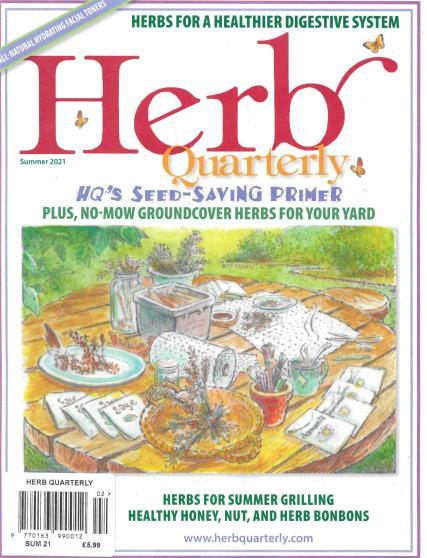 Herb Quarterly magazine