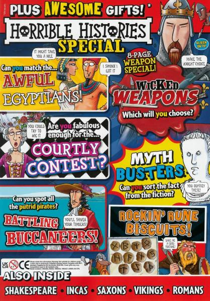 Horrible Histories Special magazine