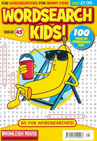 Wordsearch Kids Issue 45 magazine