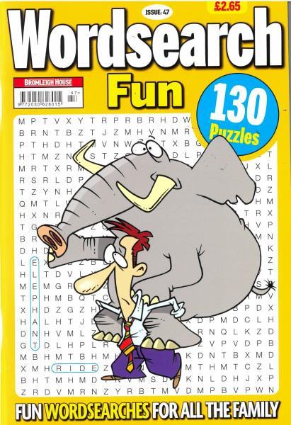 Wordsearch Fun Issue 47 magazine
