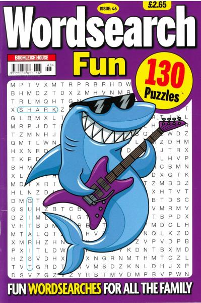 Wordsearch Fun Issue 46  magazine