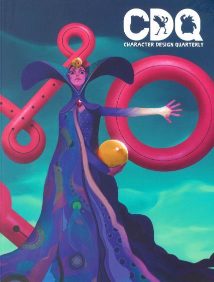 Character Design Quarterly magazine
