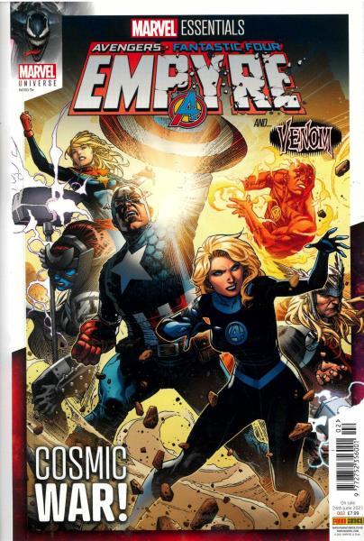 Marvel Essentials magazine