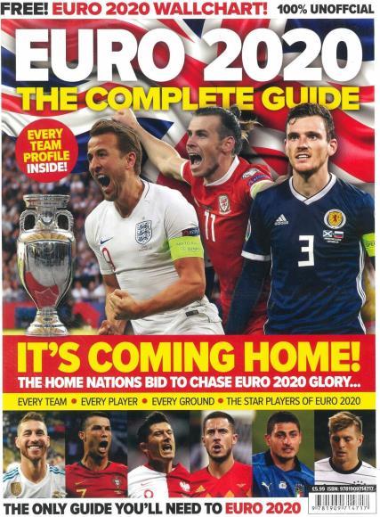 Euro 2020 The Complete Guide  magazine