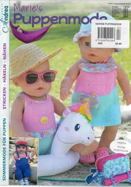 Maries Puppenmode magazine