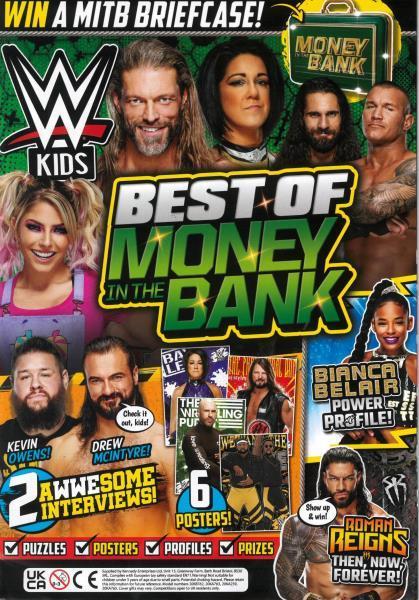 WWE Kids Issue 70 magazine