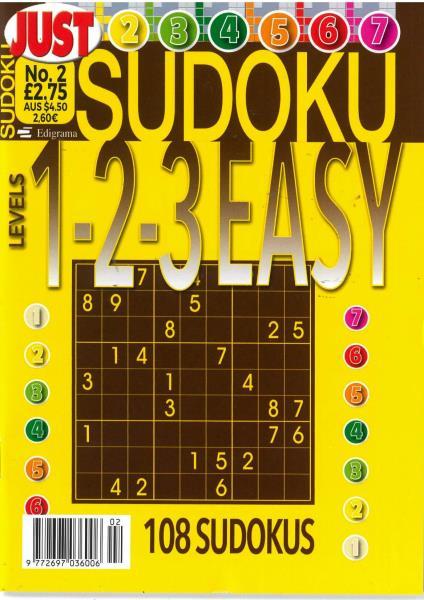 Just Sudoku Easy magazine