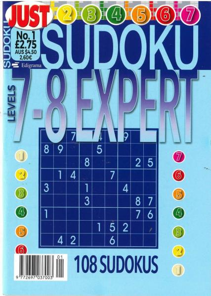 Just Sudoku Expert magazine