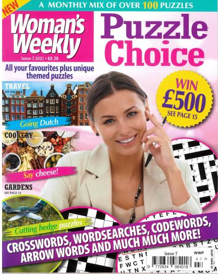 Womans Weekly Puzzle Choice magazine