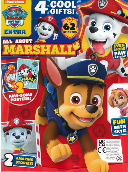 Paw Patrol Extra magazine