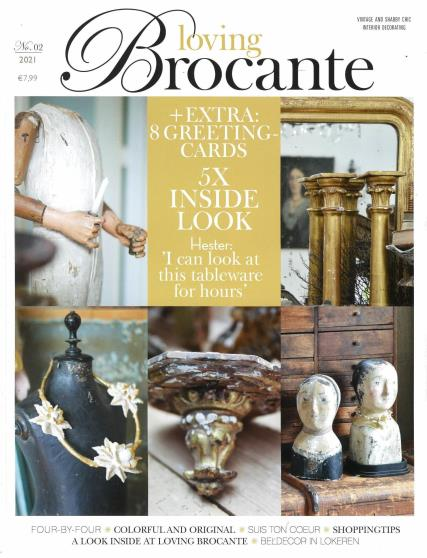 Loving Brocante No.2 2021 Single Issue magazine