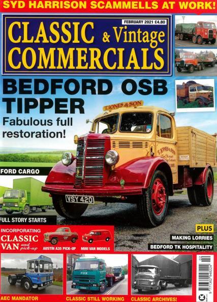 Classic & Vintage Commercials magazine