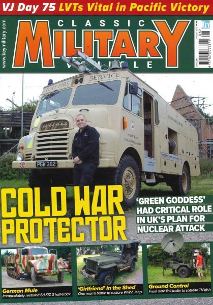 Classic Military Vehicle magazine