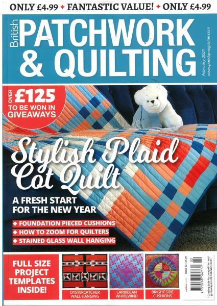 British Patchwork and Quilting magazine