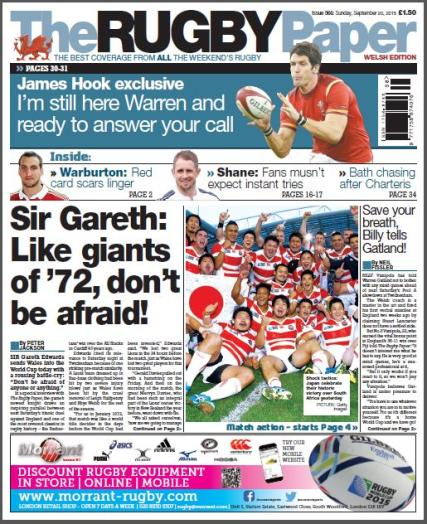 The Rugby Paper - Welsh magazine
