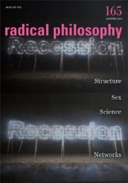 Radical Philosophy magazine